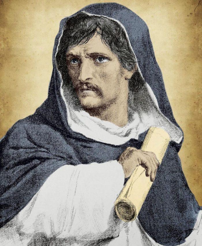 Nola: un recital filosofico su Giordano Bruno
