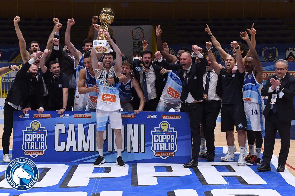 Il Napoli Basket ha vinto la Coppa Italia