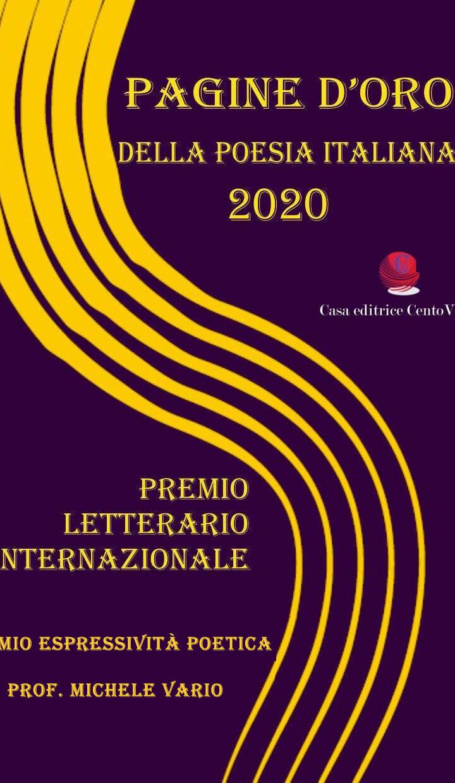 Poesia: il Premio Espressività Poetica al ciccianese Michele Vario