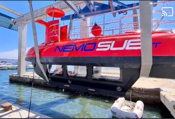 Bacoli: un sommergibile per visitare la città sommersa di Baia