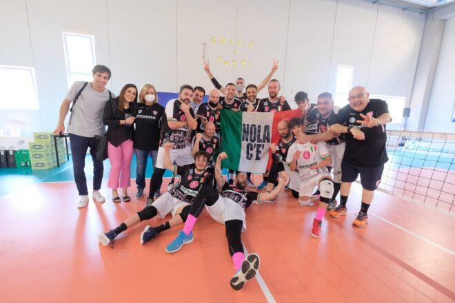 Nola: il Città dei Gigli è ancora campione d'Italia di sitting volley