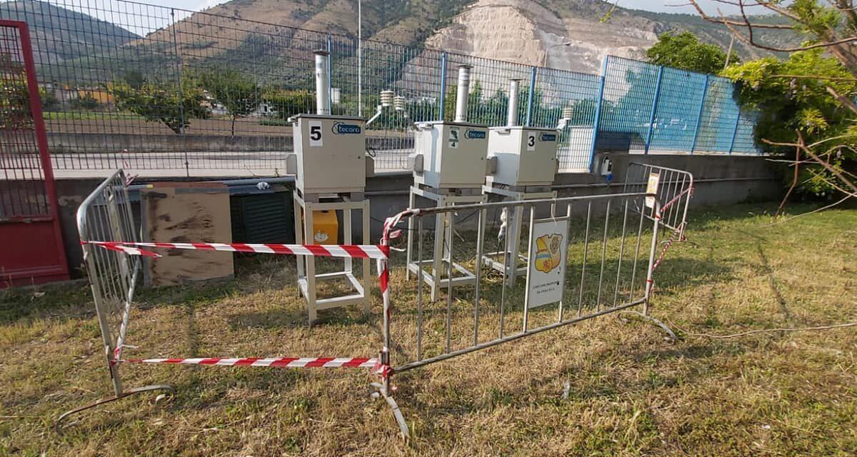 Nola: installati 3 campionatori ARPAC per il monitoraggio dell'inquinamento