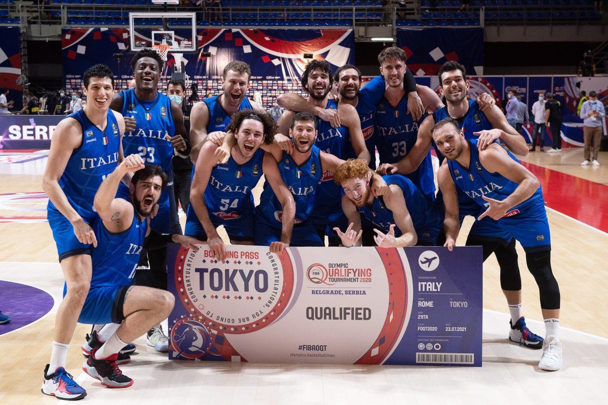 Italbasket da sogno: batte la Serbia e torna alle Olimpiadi dopo 17 anni