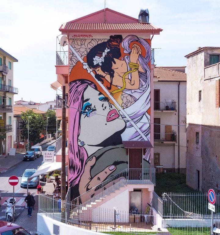 Diamante Murales 40: il festival d'arte urbana più grande del sudItalia