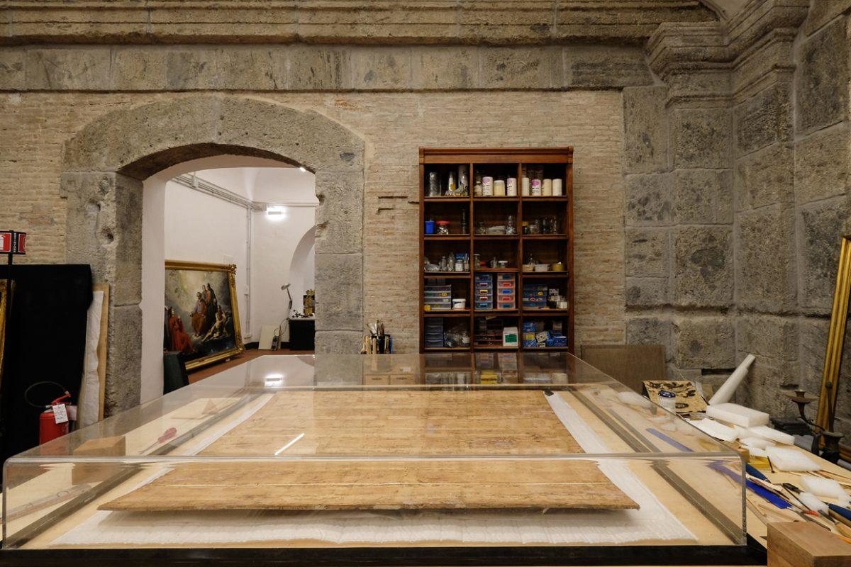 Napoli: il Palazzo Reale apre eccezionalmente le porte del laboratorio di restauro